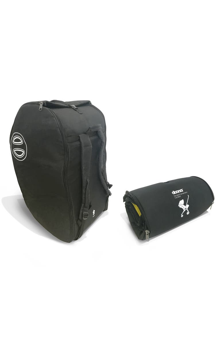 DOONA Padded Car Seat/Stroller Transport Bag, Main, color, BLACK