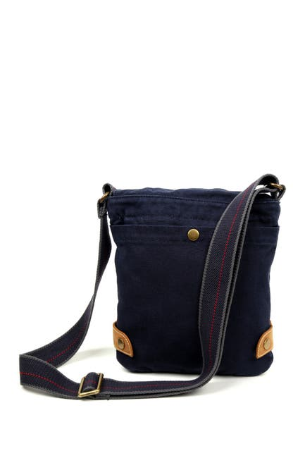 Image of TSD Atona Classic Flap Canvas Crossbody Bag