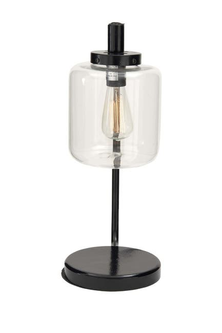 Image of Willow Row Black Metal Traditional Table Lamp