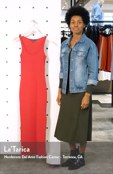 Tommy Rib Midi Dress, sales video thumbnail
