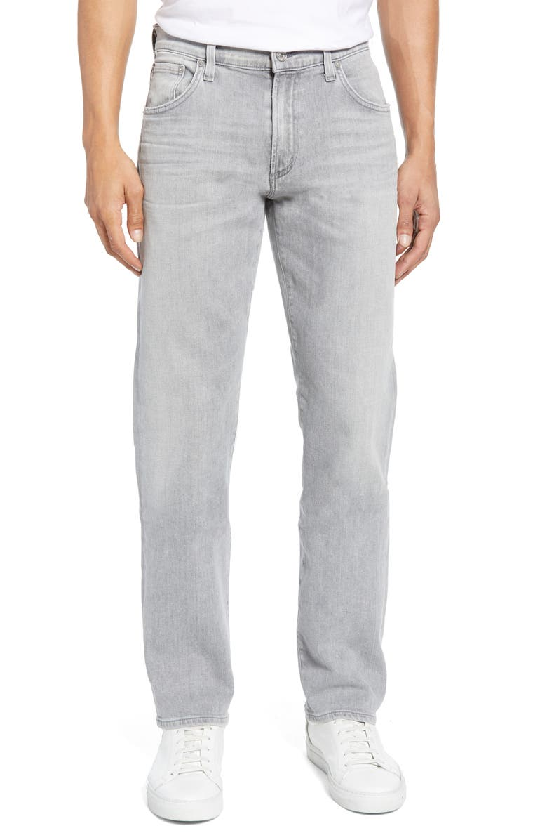 CITIZENS OF HUMANITY PERFORM - Gage Slim Straight Leg Jeans, Main, color, PAVEMENT