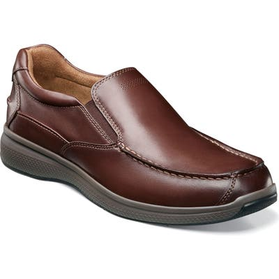 Florsheim Great Lakes Moc Toe Slip-On, Brown