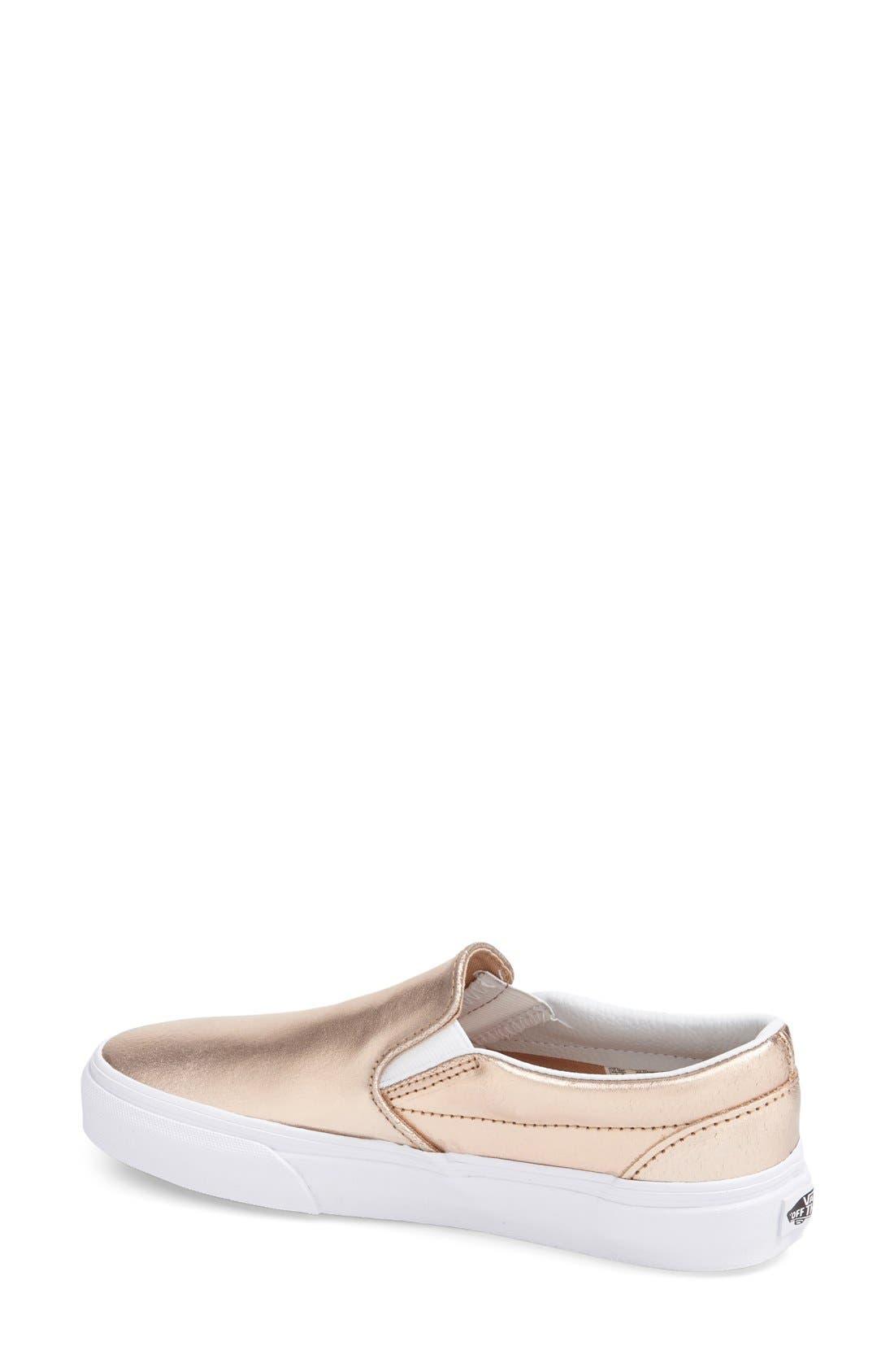 ,                             Classic Slip-On Sneaker,                             Alternate thumbnail 389, color,                             651