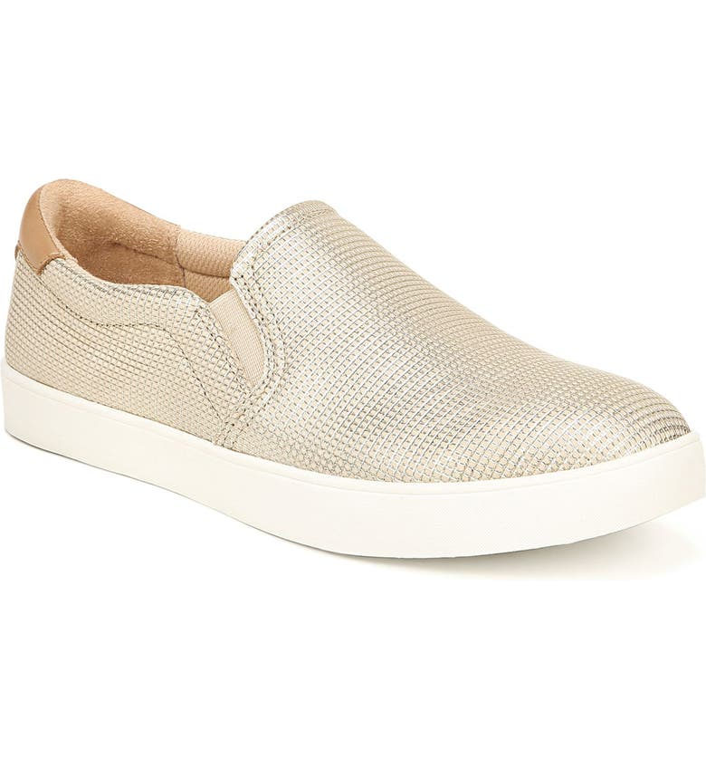 DR. SCHOLL'S Original Collection 'Scout' Slip On Sneaker, Main, color, BEIGE LEATHER