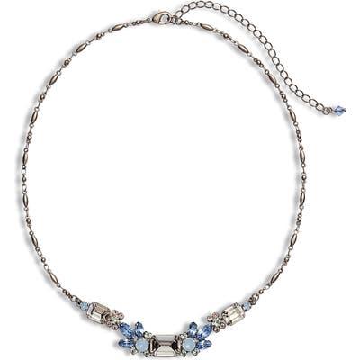 Sorrelli Pastel Prep Petal Crystal Necklace