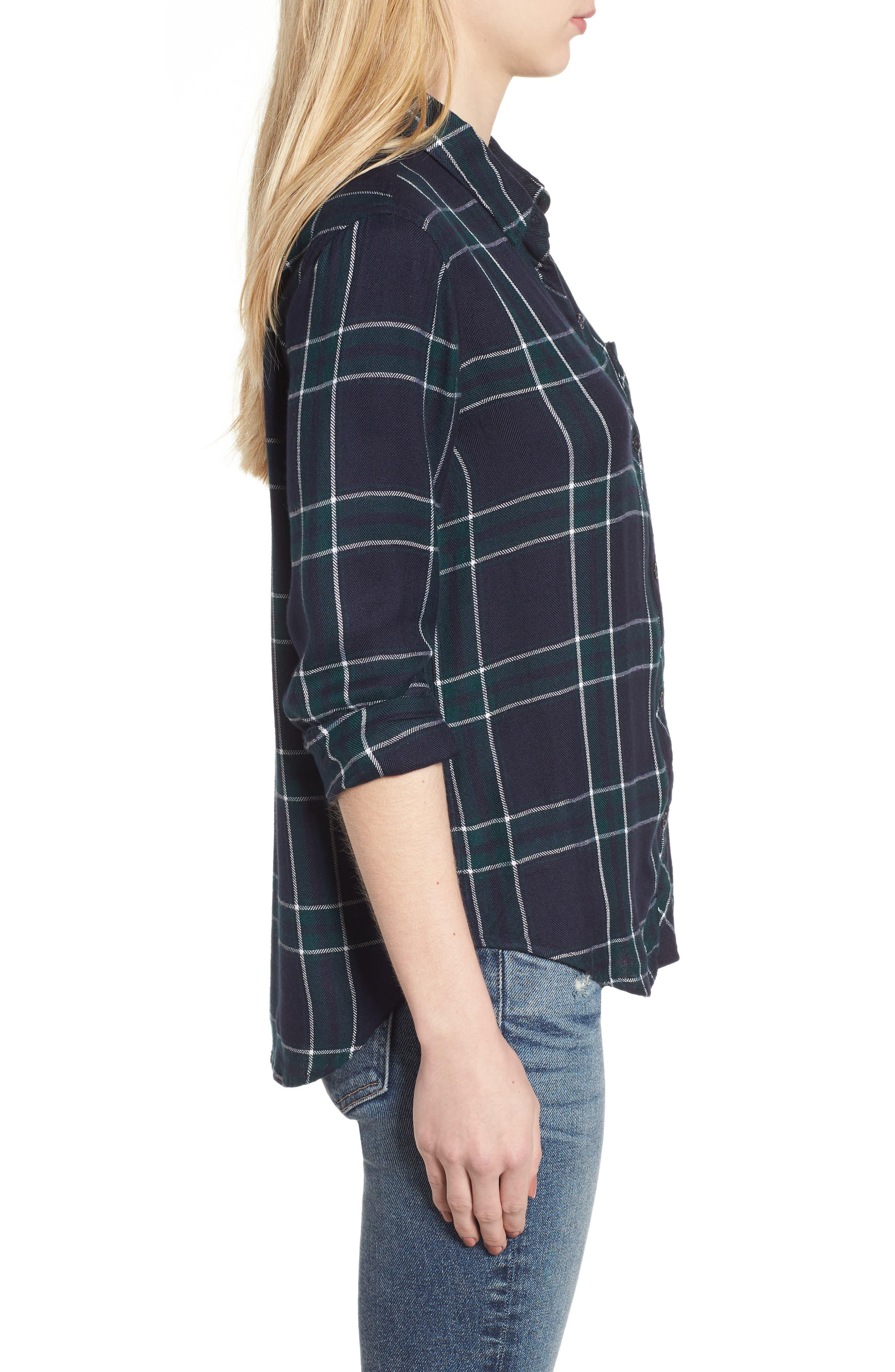 ,                             Hunter Plaid Shirt,                             Alternate thumbnail 770, color,                             407