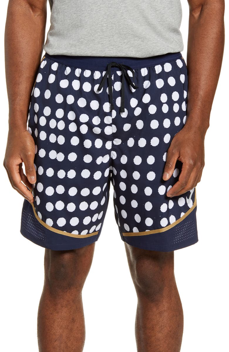 NIKE Dri-FIT Flex Stride Running Shorts, Main, color, OBSIDIAN/ OBSIDIAN/ SILVER