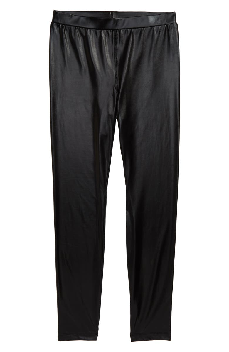 TEN SIXTY SHERMAN Liquid Leggings, Main, color, BLACK