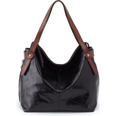 Hobo Elegy Leather Hobo Bag - Black