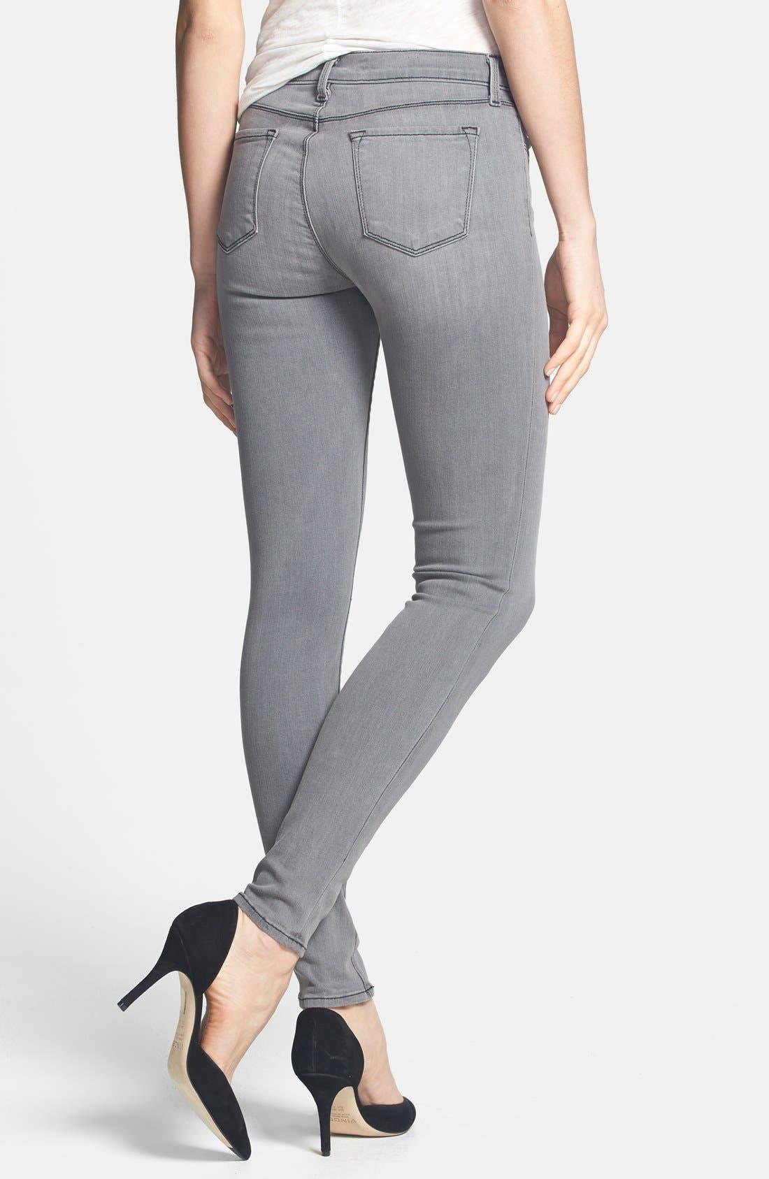 ,                             '620' Mid Rise Skinny Jeans,                             Alternate thumbnail 18, color,                             020