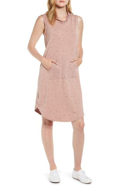 Bobeau Dresses SLEEVELESS FRENCH TERRY DRESS