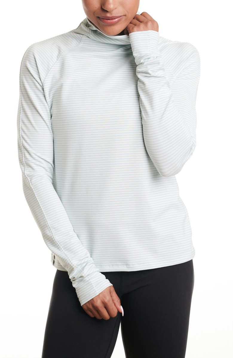 OISELLE Striped Mile One Pullover, Main, color, 300