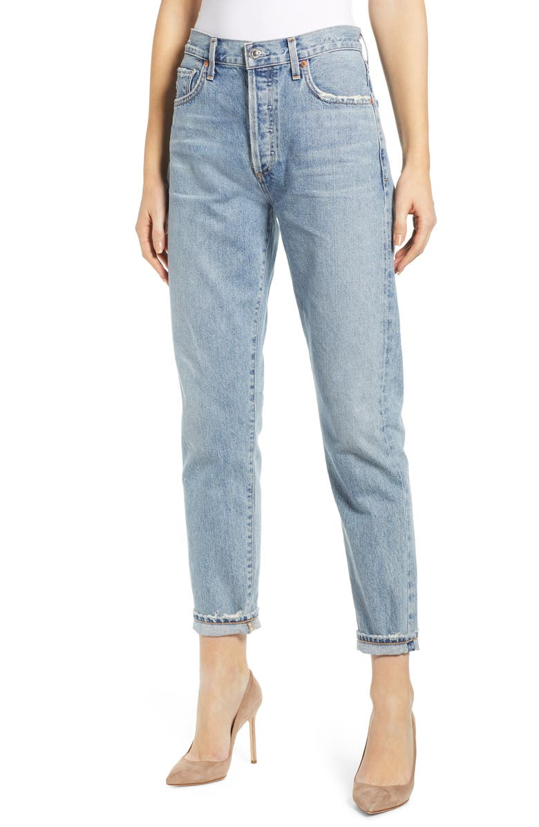 CITIZENS OF HUMANITY Liya High Waist Slim Jeans, Main, color, ARCHIVE