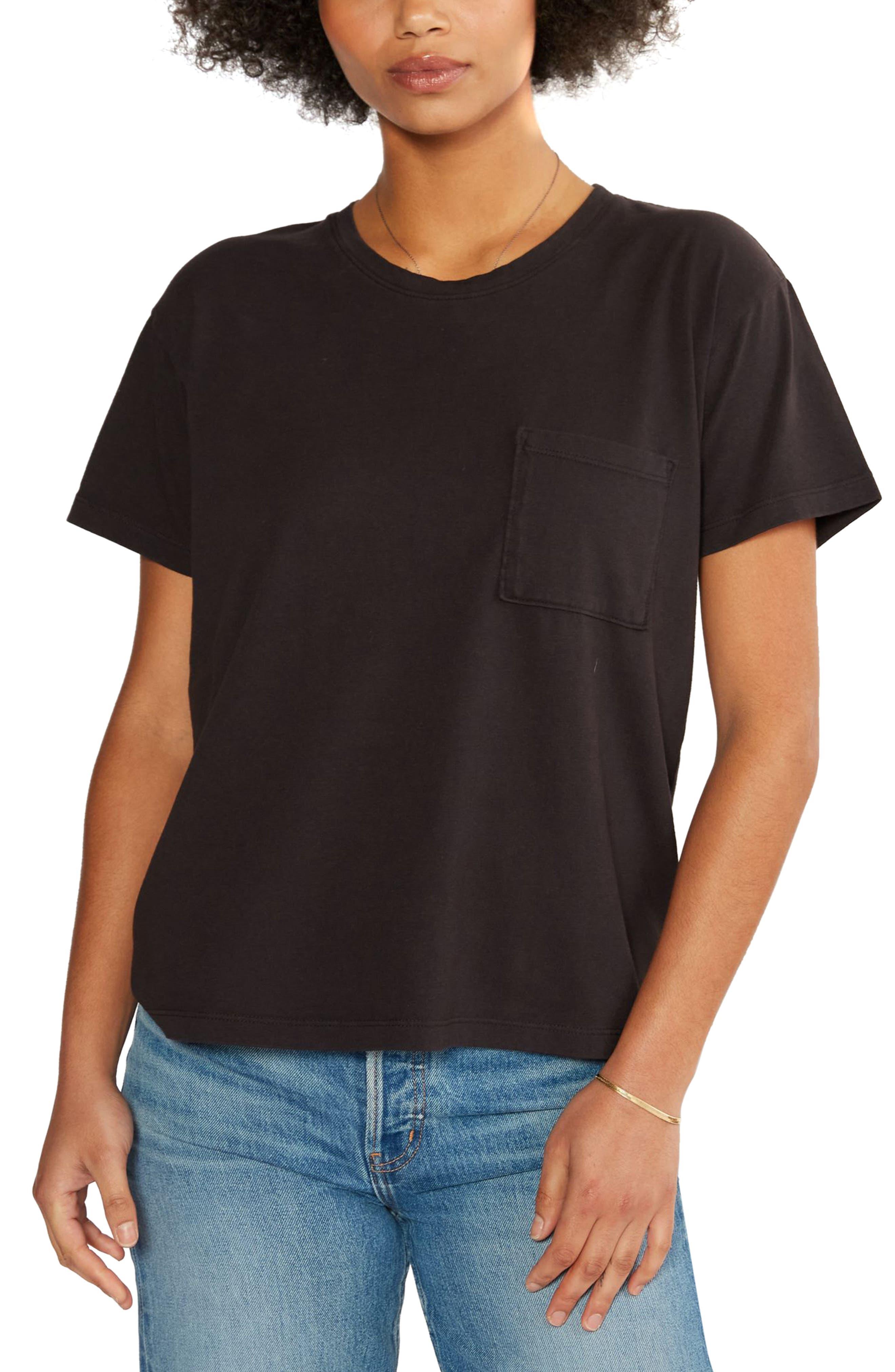Women's Etica Avril Organic Cotton Pocket T-Shirt