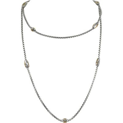 Konstantino Astria Long Station Necklace