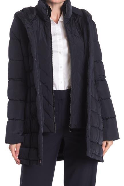 Image of Calvin Klein Walker Side Stretch Puffer Jacket