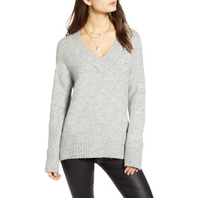 Vero Moda V-Neck Sweater, Grey