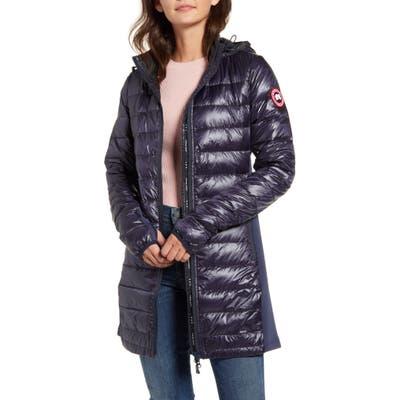 Canada Goose Hybridge Lite Hooded Packable Down Coat, Blue
