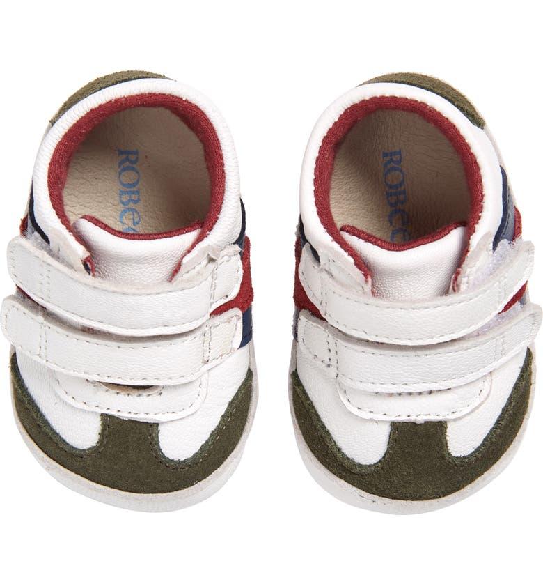 ROBEEZ<SUP>®</SUP> Jayden Crib Shoe, Main, color, MULTI