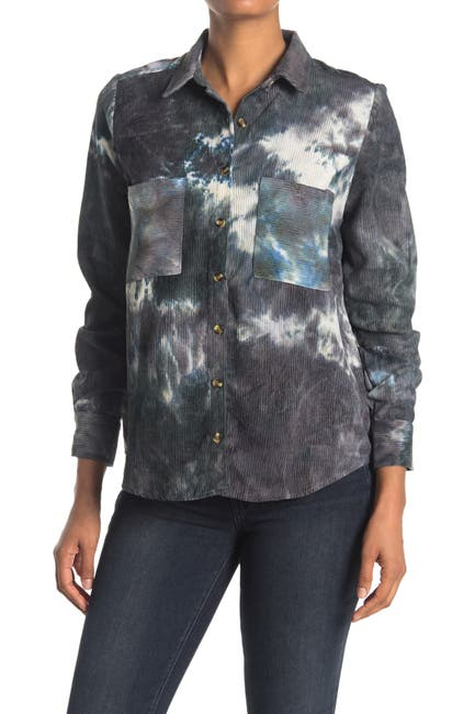 Image of HYFVE Corduroy Button-Down Shirt