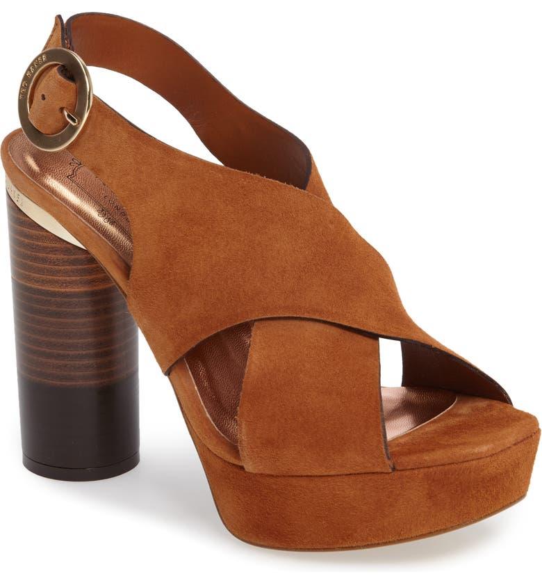 6dcf62c66b125 Ted Baker London Kamilla Statement Heel Sandal (Women) | Nordstrom