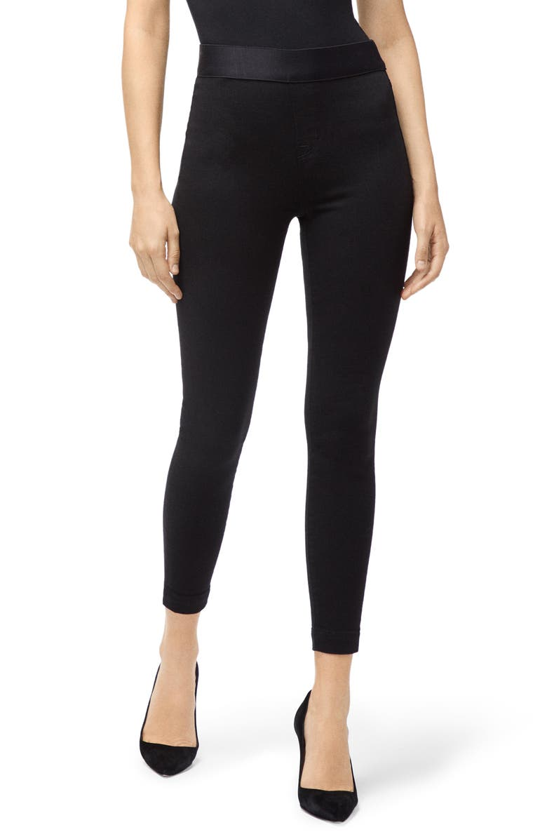J BRAND Dellah High Waist Leggings, Main, color, SERIOUSLY BLACK
