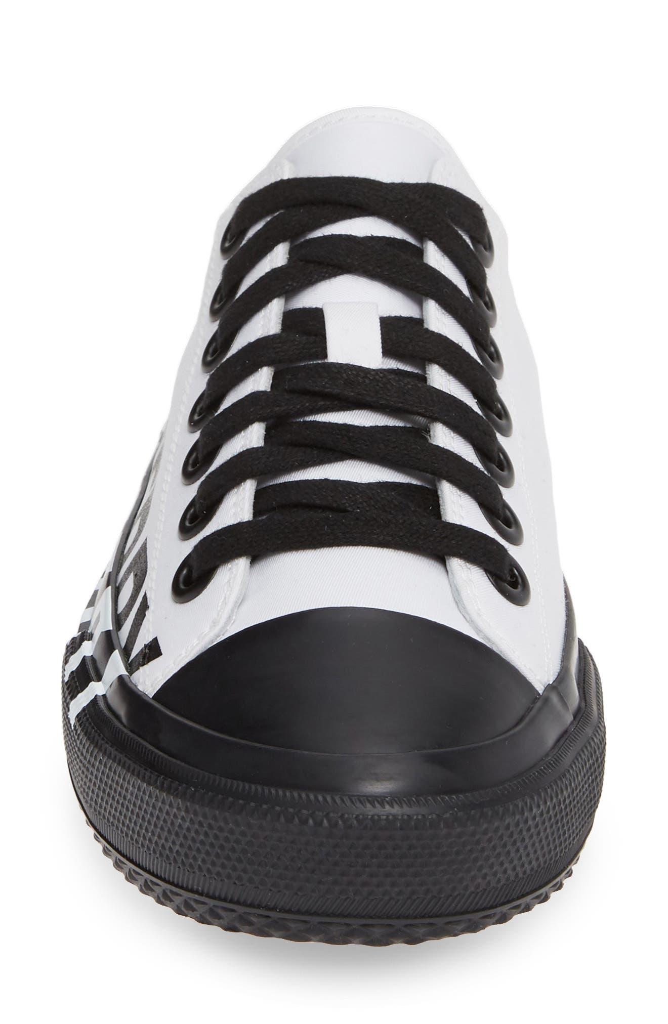,                             Larkhall Graphic Logo Sneaker,                             Alternate thumbnail 4, color,                             WHITE/ BLACK