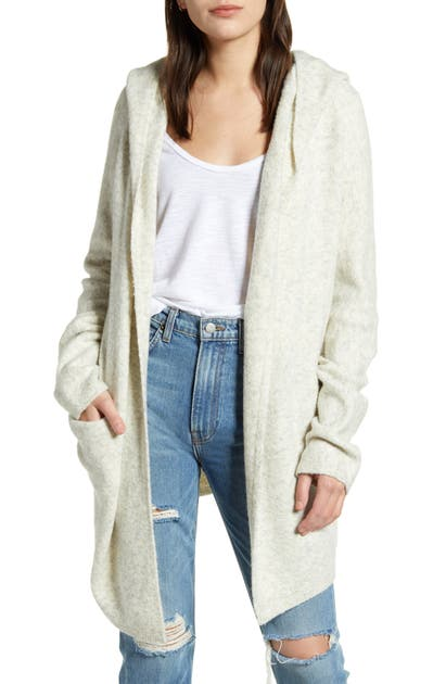 French Connection Tops FLOSSY HOODED CARDIGAN