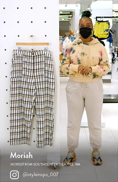 Crop Plaid Pants, sales video thumbnail