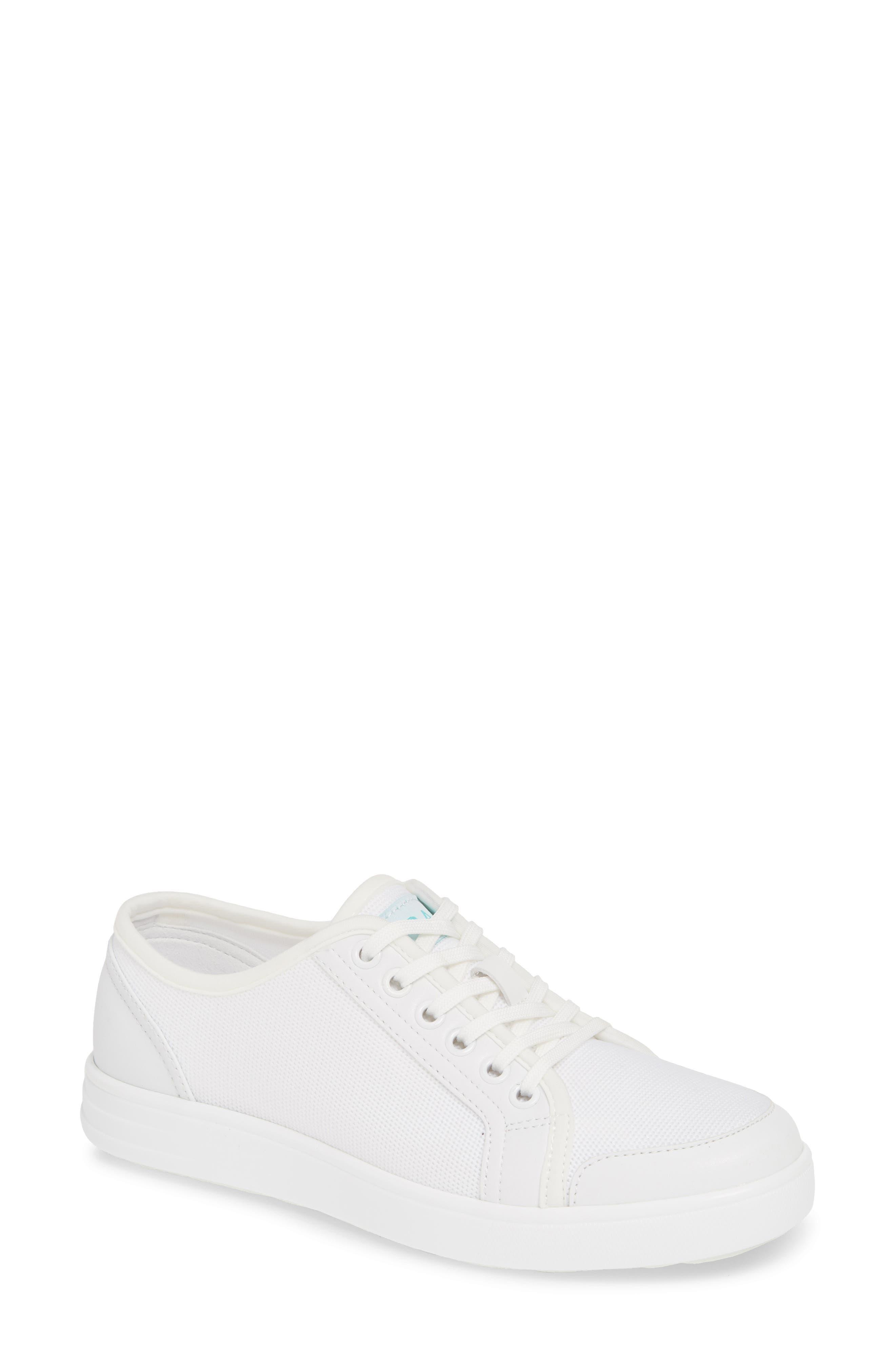 Alegria Sneaq Sneaker, White