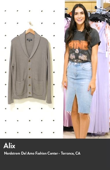 Shawl Collar Cardigan, sales video thumbnail