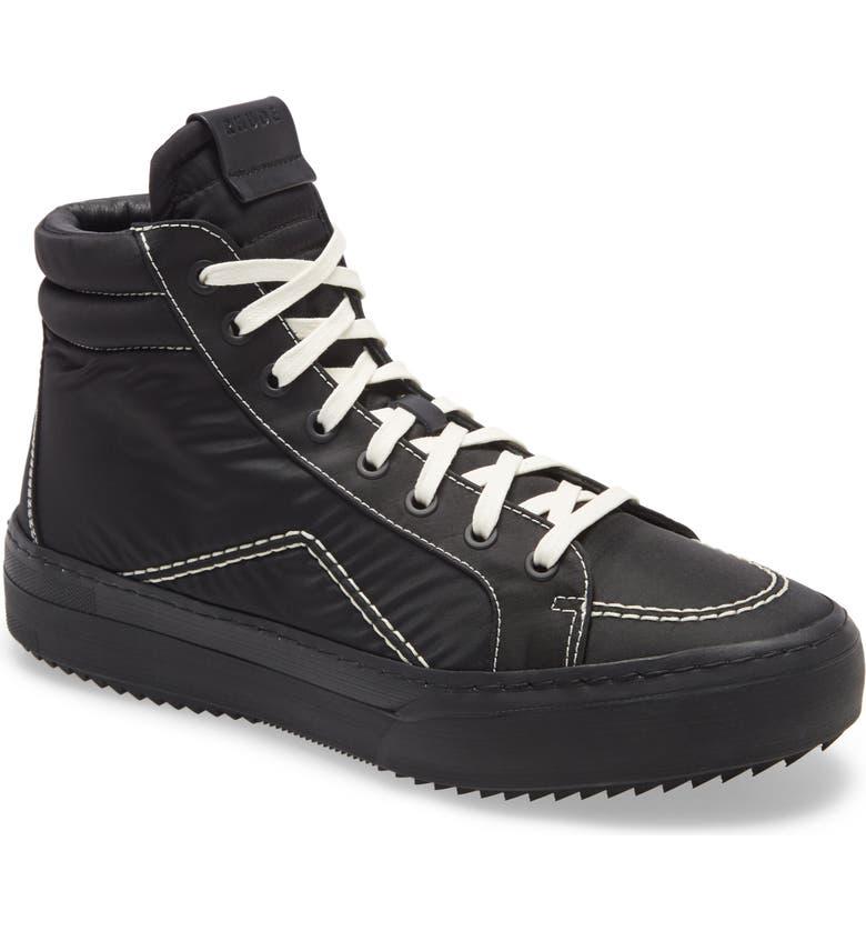 RHUDE V1-Hi Sneaker, Main, color, 001