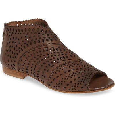 Cordani Bayous Peep Toe Bootie, Brown