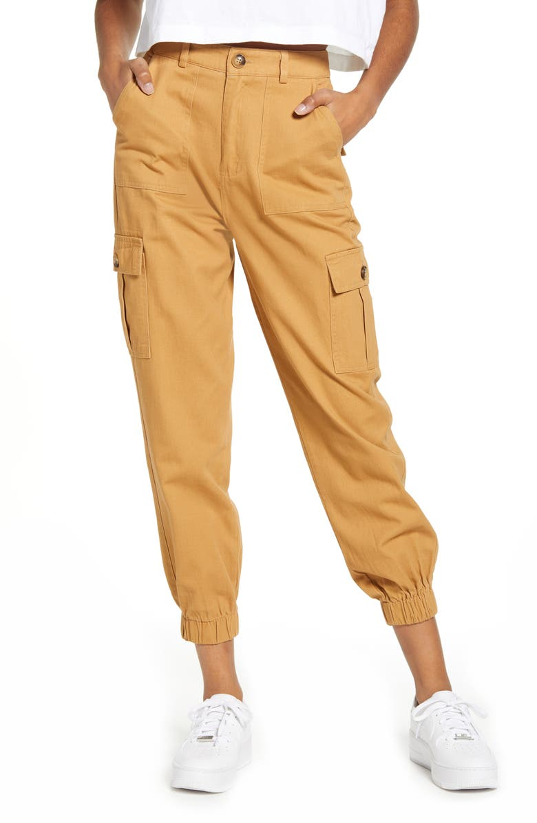 KNOW ONE CARES Cotton Cargo Jogger Pants, Main, color, 600