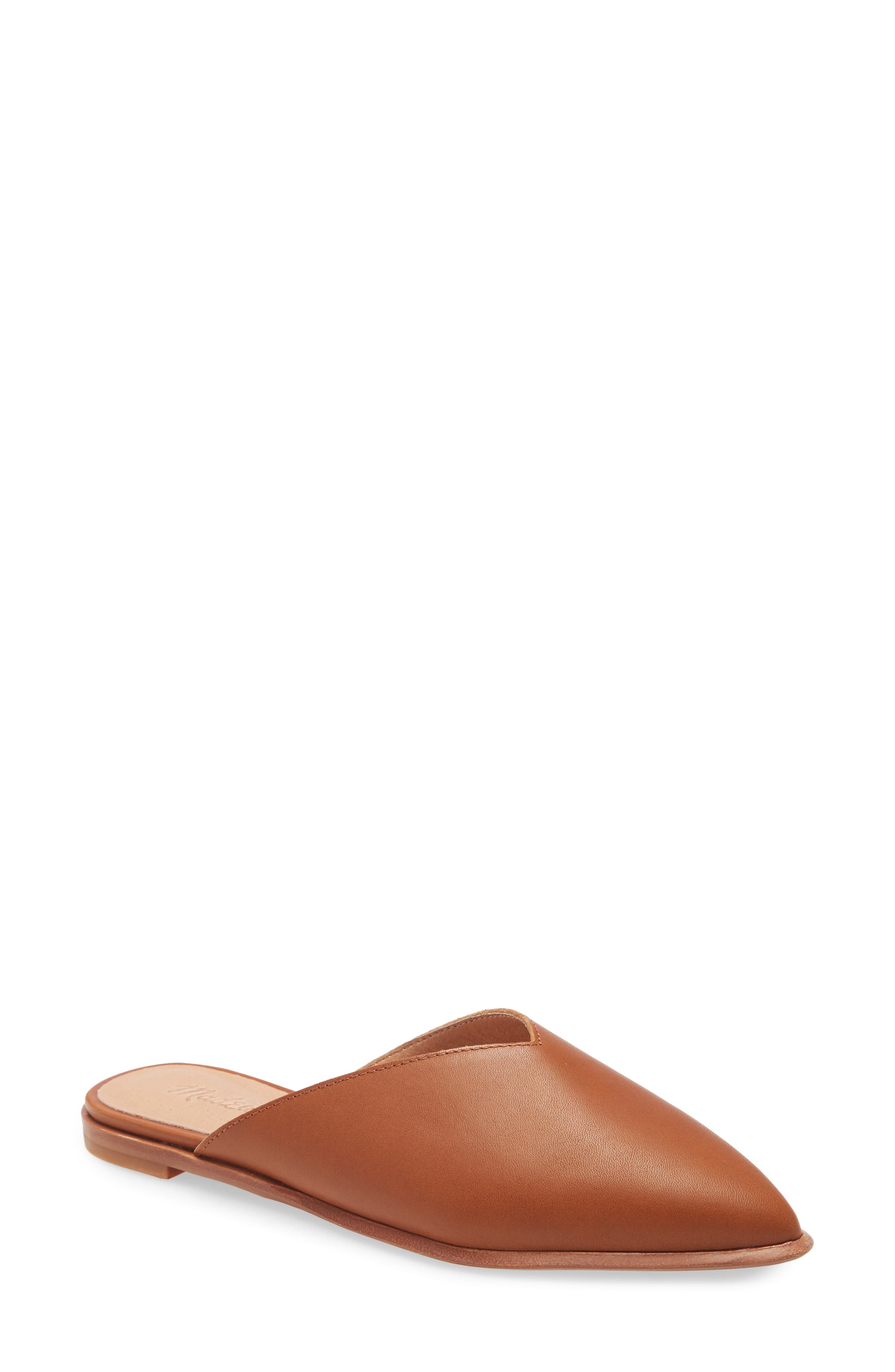 Made of buttery leather, these sleek pointy-toe mules are so comfy they\\\'re like stealth slippers. And, cushiness alert: Madewell\\\'s MWL Cloudlift Lite padding feels like walking on a.well, you know. Style Name: Madewell The Emilia Mule (Women). Style Number: 6042493. Available in stores.