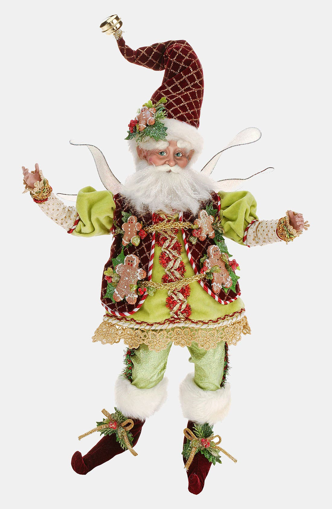 'Gingerbread Fairy' Figurine, Main, color, 000