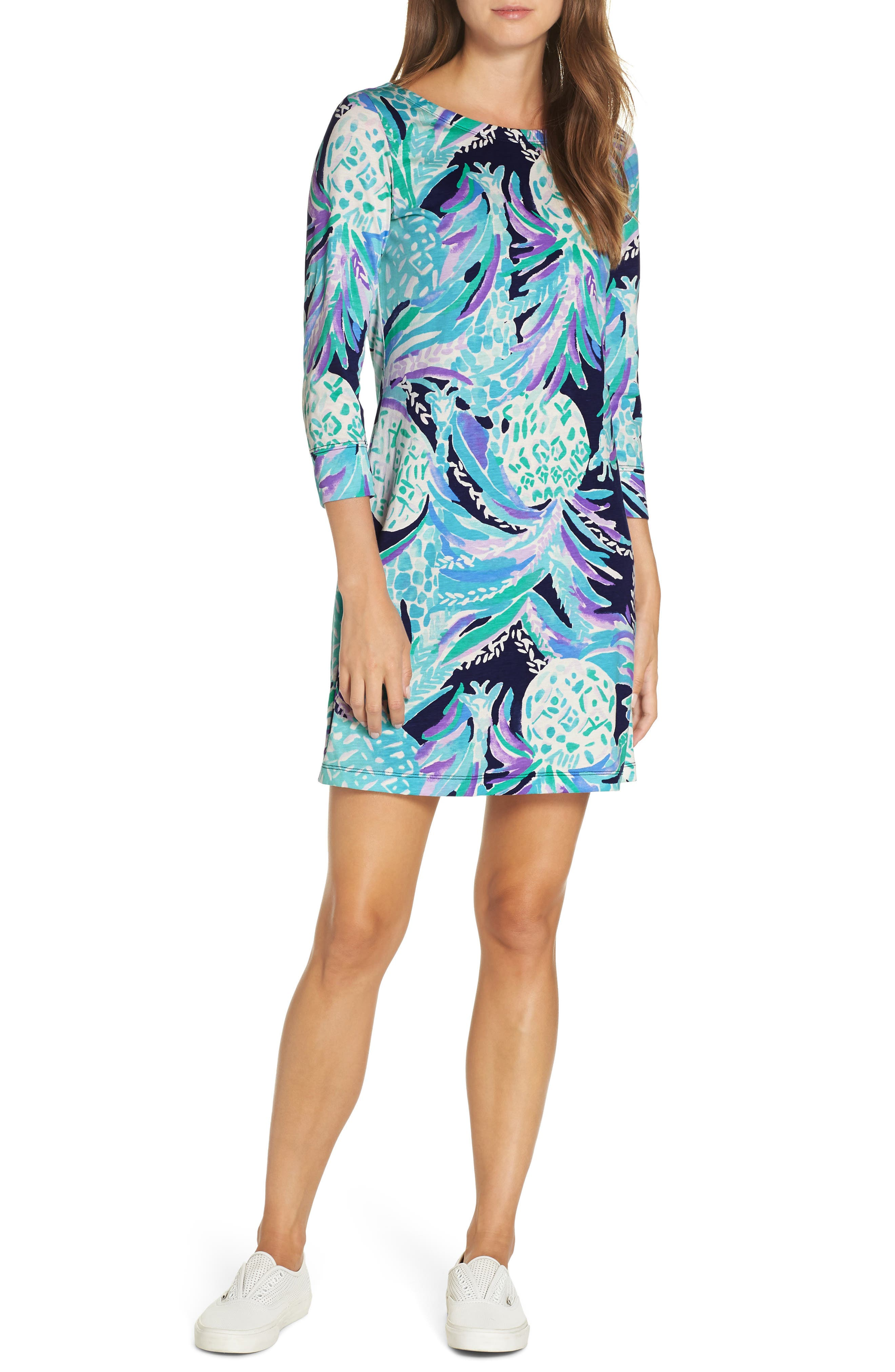 Lilly Pulitzer Hollee Shift Dress, Blue