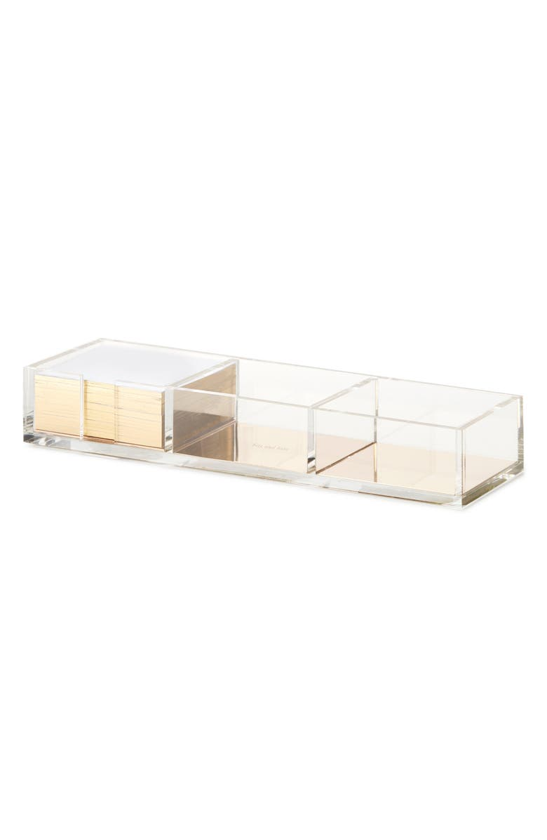 KATE SPADE NEW YORK acrylic note holder, Main, color, 710