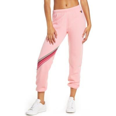Aviator Nation Jogger Sweatpants, Pink (Nordstrom Exclusive)