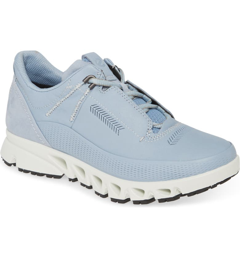ECCO Omni-Vent Gore-Tex<sup>®</sup> Waterproof Sneaker, Main, color, DUSTY BLUE LEATHER