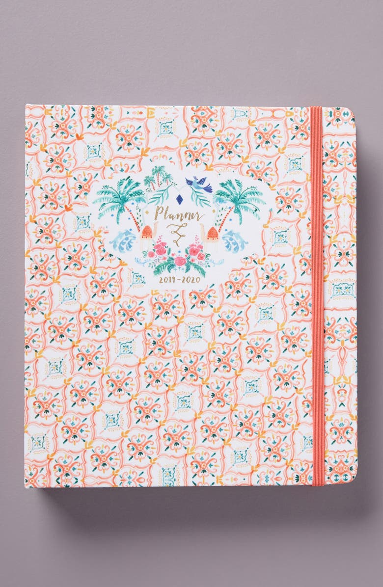 ANTHROPOLOGIE HOME Rosie Harbottle 17-Month Planner, Main, color, PINK