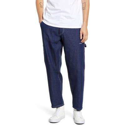 Mki Miyuki Zoku Raw Denim Carpenter Jeans, Blue