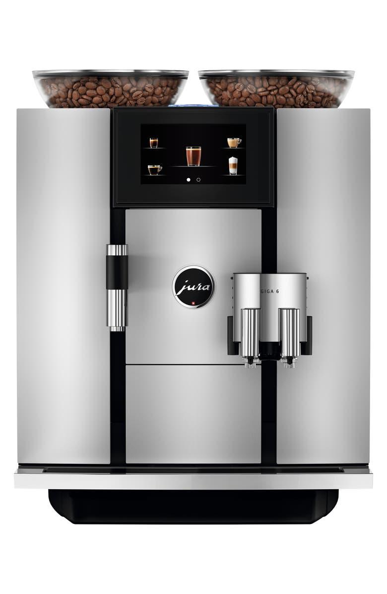 JURA Giga 6 Automatic Coffee Machine, Main, color, ALUMINUM