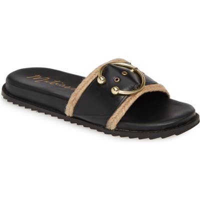 Matisse Hampton Slide Sandal, Black