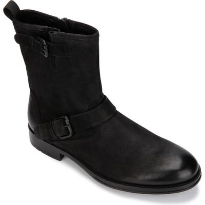 Kenneth Cole New York Hugh Buckle Boot- Black
