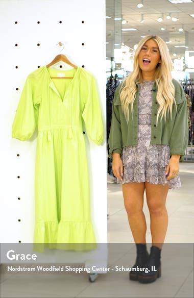 Stevie Midi Dress, sales video thumbnail