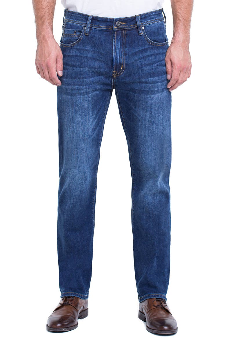 LIVERPOOL Regent Straight Leg Jeans, Main, color, MARINA DARK