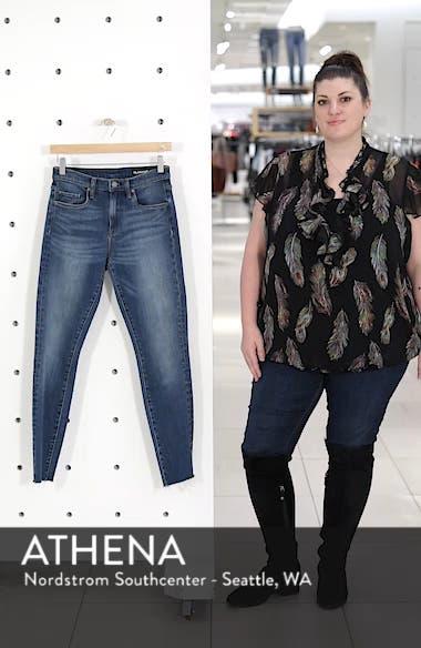 The Great Jones Raw Hem Skinny Jeans, sales video thumbnail