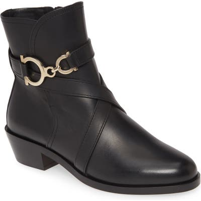 Salvatore Ferragamo Shadi Buckle Bootie