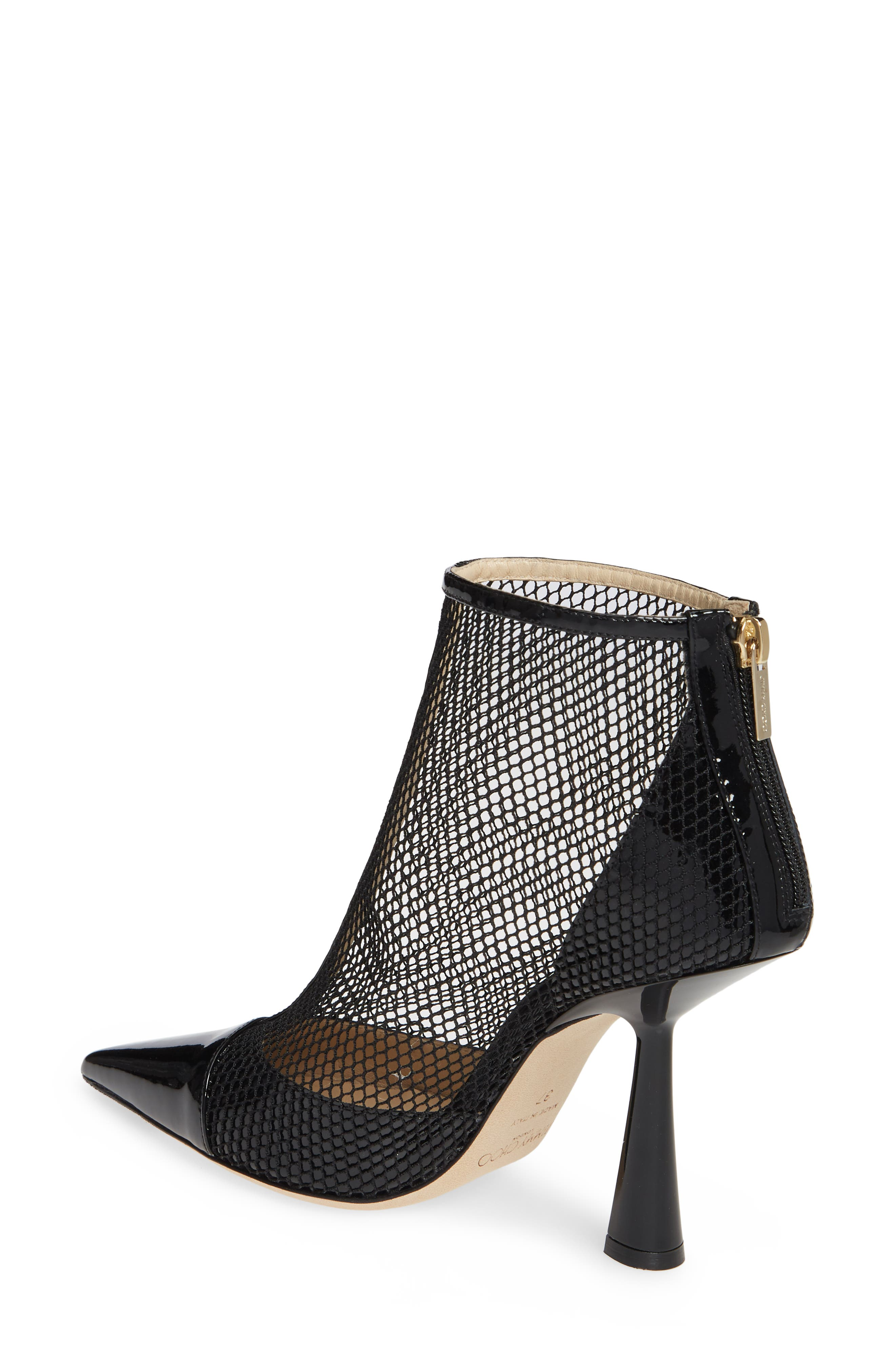 ,                             Kix Mesh Bootie,                             Alternate thumbnail 2, color,                             BLACK